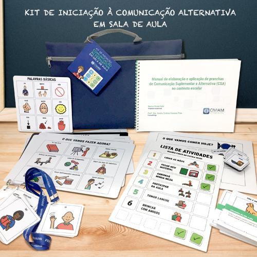 kit de comunicação alternativa